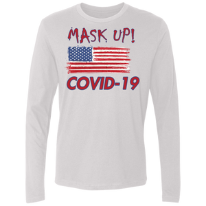 Mask Up- Men's Premium LS