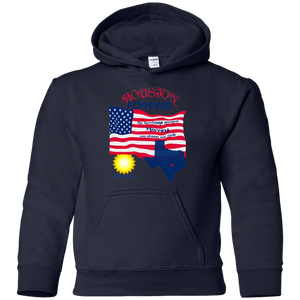 G185B Gildan Youth Pullover Hoodie-Houston-men's wear