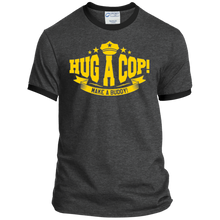 PC54R Port & Co. Ringer Tee-Hug A Cop
