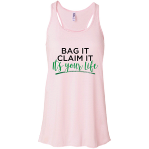 Bag it- Canvas Flowy Racerback Tank