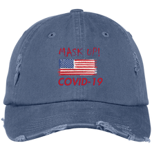 Mask Up-Twill Unstructured Dad Cap-men's wear