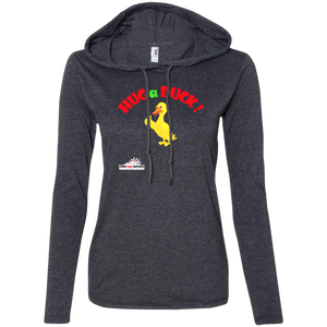 Duck- Anvil Ladies' LS T-Shirt Hoodie