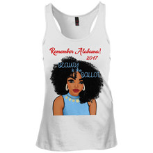 DT237 District Junior's Racerback Tank Top-Beauty