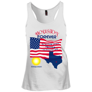 DT237 District Junior's Racerback Tank Top-Houston-women's wear