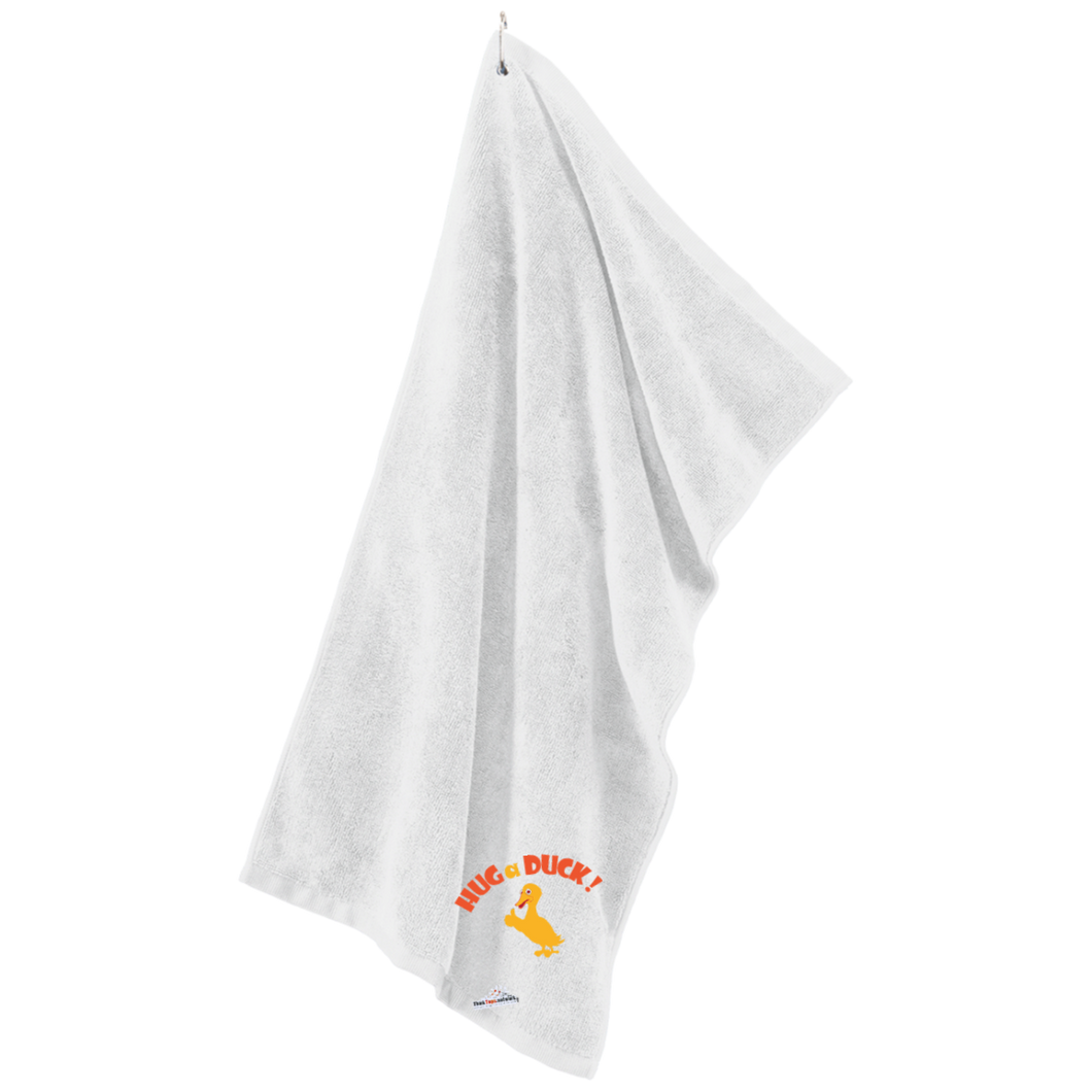 Duck- Port Authority Microfiber Golf Towel