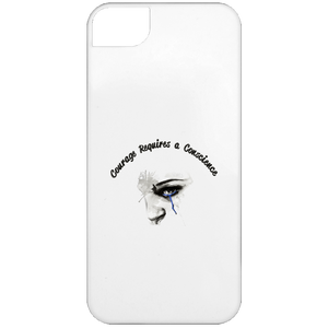 Courage-iPhone 5 Case