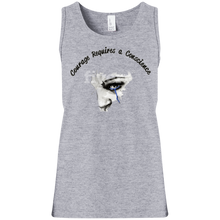 Courage- District Girls' 100% Cotton Tank Top