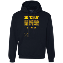 G925 Gildan Heavyweight Pullover Fleece Sweatshirt-10th Cav