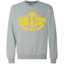 G920 Gildan Heavyweight Crewneck Sweatshirt 9 oz.-Hug A Cop