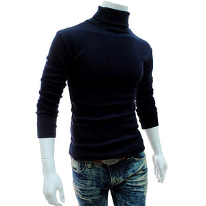 Men's Turtleneck Sweaters Long Sleeve
