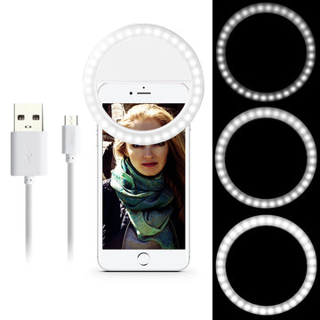 Desk Pro Selfie Light Ring for Smartphones