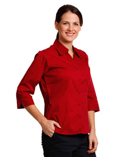 Winning Spirit Ladies' 3/4 sleeve teflon shirt