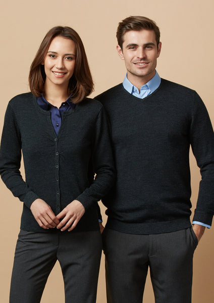 Biz Collection Mens Origin Merino Pullover