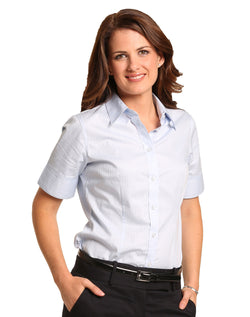 Benchmark Women's Self Stripe S/S Shirt