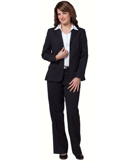 Benchmark Women's Stretch Wool Blend Mid Length Jacket