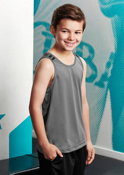 Biz Collection Kids Flash Singlet