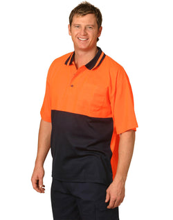 AIW Hi-Vis truedry safety polo Short Sleeve