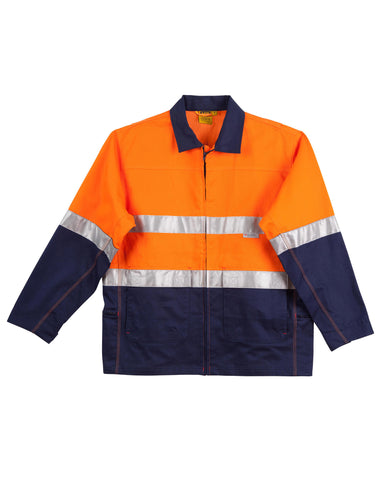AIW Hi-Vis Two Tone Work Jacket With 3M Tapes