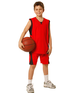 Campus Spirit Kid's Basketball Singlets