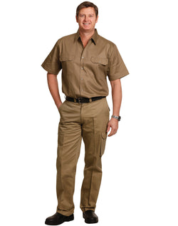 AIW drill pant pocket on leg / regular fit