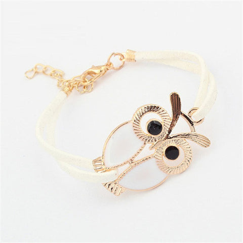 SINCOS SALE Owl Leather Bracelet - SINCOS CLOTHING WOMAN ONLINE CHEAP AFTERPAY DRESSES PLUS SIZE GOOGLE FASHION NEW STYLE HOT SEXY PARTY JUMPSUITS TOP TEES SUITS BLAZER JACKETS COATS HOODIES SWEATSHIRTS FLORAL BUSINESS