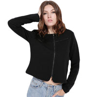 Baseball Zipper Jacket - SINCOS CLOTHING WOMAN ONLINE CHEAP AFTERPAY DRESSES PLUS SIZE GOOGLE FASHION NEW STYLE HOT SEXY PARTY JUMPSUITS TOP TEES SUITS BLAZER JACKETS COATS HOODIES SWEATSHIRTS FLORAL BUSINESS