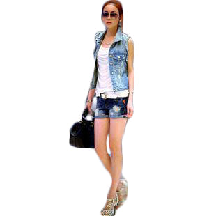 Denim Jacket Slim Coat Cardigan Jackets & Coats SINCOS Women Clothing Store Flash Sales