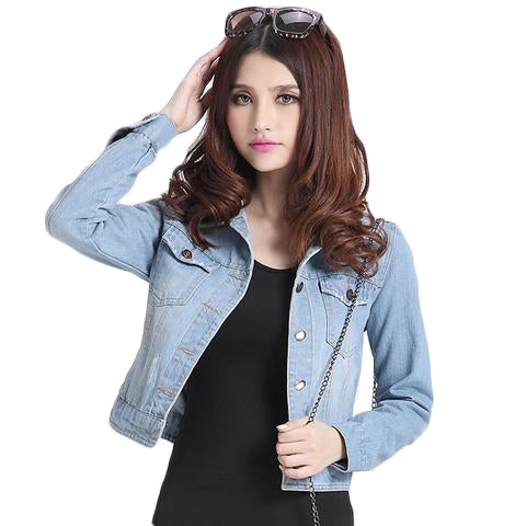 Denim Women Jacket Jackets & Coats SINCOS Women Clothing Store Flash Sales