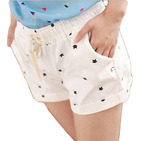 Fashionable Nice Printed Shorts - SINCOS CLOTHING WOMAN ONLINE CHEAP AFTERPAY DRESSES PLUS SIZE ZIPPAY