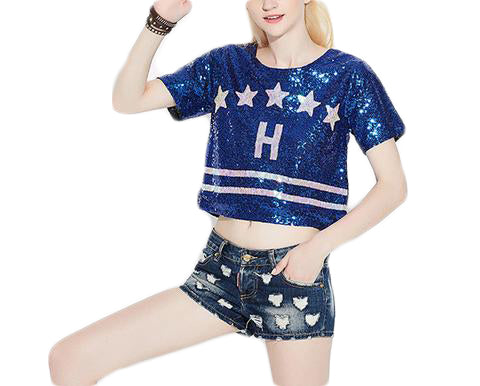 f4f24e0976b Glitter Short Sleeve Casual - SINCOS CLOTHING WOMAN ONLINE CHEAP AFTERPAY  DRESSES PLUS SIZE ZIPPAY