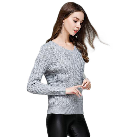 Knitted Soft Sweater - SINCOS CLOTHING WOMAN ONLINE CHEAP AFTERPAY DRESSES PLUS SIZE ZIPPAY