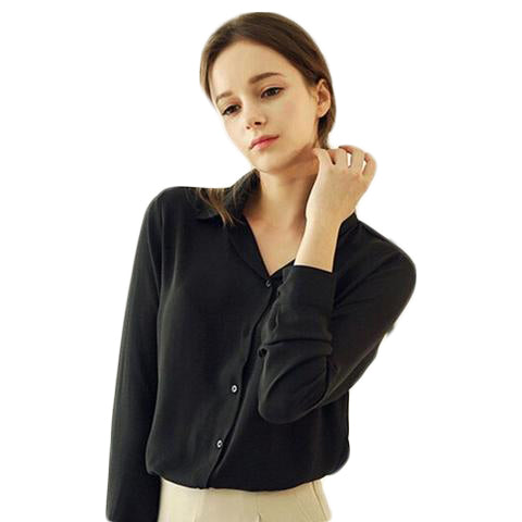 Long-Sleeve Chiffon Shirt - SINCOS CLOTHING WOMAN ONLINE CHEAP AFTERPAY DRESSES PLUS SIZE ZIPPAY WISH ALIEXPRESS GOOGLE