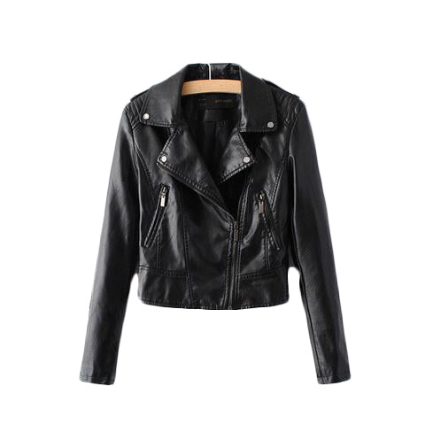 Motorcycle PU Leather Jacket - SINCOS CLOTHING WOMAN ONLINE CHEAP AFTERPAY DRESSES PLUS SIZE ZIPPAY WISH ALIEXPRESS GOOGLE