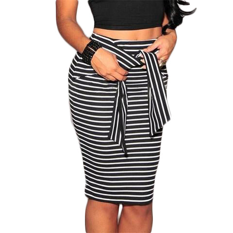Striped casual skirts - SINCOS CLOTHING WOMAN ONLINE CHEAP AFTERPAY DRESSES PLUS SIZE ZIPPAY WISH ALIEXPRESS GOOGLE