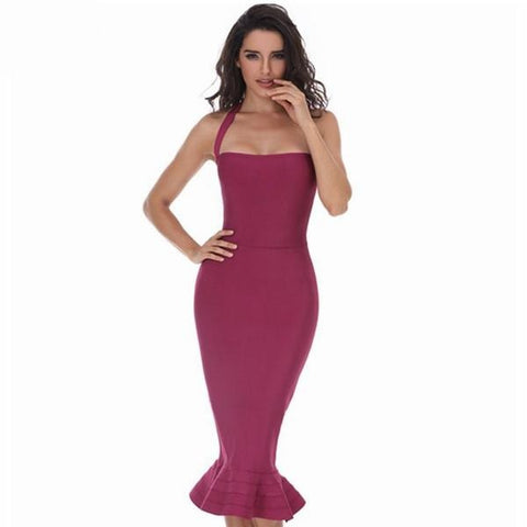 Elegant Nice Fishtail Dress - SINCOS CLOTHING WOMAN ONLINE CHEAP AFTERPAY DRESSES PLUS SIZE ZIPPAY