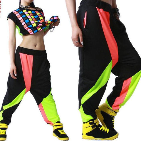 Harem Hip Hop Dance Pants - SINCOS CLOTHING WOMAN ONLINE CHEAP AFTERPAY DRESSES PLUS SIZE ZIPPAY
