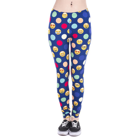 Fashion Print Leggings - SINCOS CLOTHING WOMAN ONLINE CHEAP AFTERPAY DRESSES PLUS SIZE GOOGLE FASHION NEW STYLE HOT SEXY PARTY JUMPSUITS TOP TEES SUITS BLAZER JACKETS COATS HOODIES SWEATSHIRTS FLORAL BUSINESS