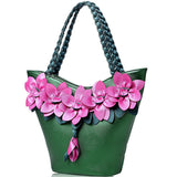 Flower Tote Bag - SINCOS CLOTHING WOMAN ONLINE CHEAP AFTERPAY DRESSES PLUS SIZE ZIPPAY