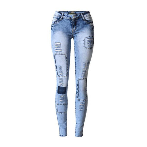 Jean Skinny Jeggings Stretchy - SINCOS CLOTHING WOMAN ONLINE CHEAP AFTERPAY DRESSES PLUS SIZE ZIPPAY