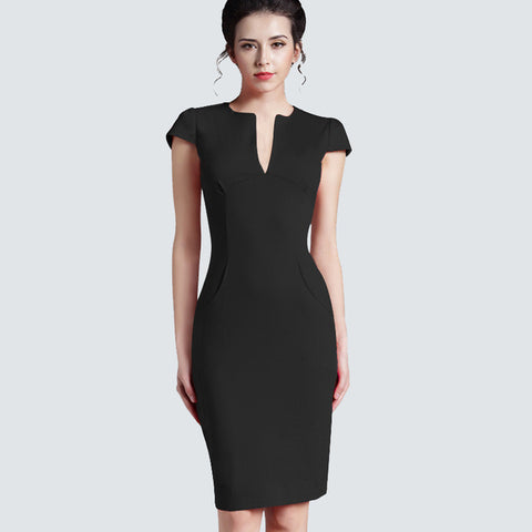 Elegant and Sexy Work Dress - SINCOS CLOTHING WOMAN ONLINE CHEAP AFTERPAY DRESSES PLUS SIZE ZIPPAY