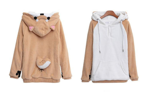 Cute Doge Muco Hoodies - SINCOS CLOTHING WOMAN ONLINE CHEAP AFTERPAY DRESSES PLUS SIZE ZIPPAY