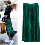 High Waist Vintage Long Skirt - SINCOS CLOTHING WOMAN ONLINE CHEAP AFTERPAY DRESSES PLUS SIZE ZIPPAY