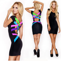 SINCOS Afterpay Clothing Cheap Women Online Dresses Jumpsuits Playsuits Tops Tshirts Iconic Princess Poly Bottoms Shorts Jeans Maxi Plus Size Clearance Sale sexy black bandage mini pencil dress neon