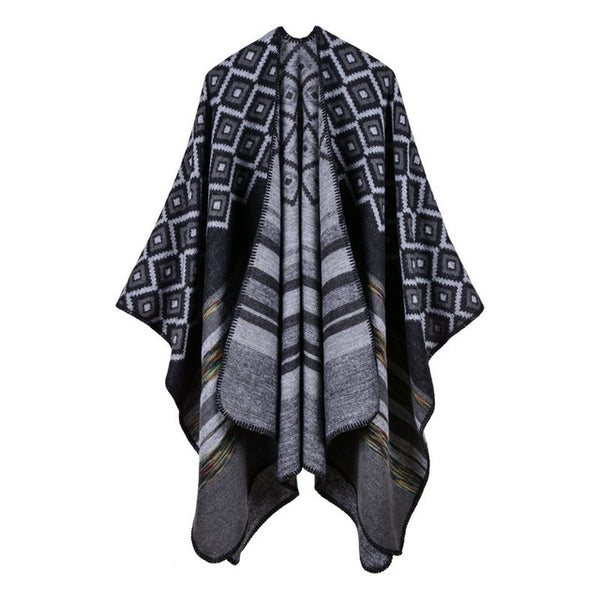 Clothing Poncho Knitting Sweaters Jackets & Coats SINCOS Women Clothing Store Flash Sales