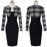 Double Breasted Long Sleeve Dress - SINCOS CLOTHING WOMAN ONLINE CHEAP AFTERPAY DRESSES PLUS SIZE GOOGLE FASHION NEW STYLE HOT SEXY PARTY JUMPSUITS TOP TEES SUITS BLAZER JACKETS COATS HOODIES SWEATSHIRTS FLORAL BUSINESS