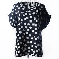 Chiffon Short Sleeve Blouse - SINCOS CLOTHING WOMAN ONLINE CHEAP AFTERPAY DRESSES PLUS SIZE GOOGLE FASHION NEW STYLE HOT SEXY PARTY JUMPSUITS TOP TEES SUITS BLAZER JACKETS COATS HOODIES SWEATSHIRTS FLORAL BUSINESS
