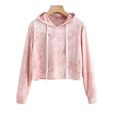 Crop Top Hoodies - SINCOS CLOTHING WOMAN ONLINE CHEAP AFTERPAY DRESSES PLUS SIZE GOOGLE FASHION NEW STYLE HOT SEXY PARTY JUMPSUITS TOP TEES SUITS BLAZER JACKETS COATS HOODIES SWEATSHIRTS FLORAL BUSINESS