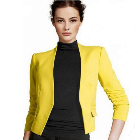 Long Puff Sleeve Blazer - SINCOS CLOTHING WOMAN ONLINE CHEAP AFTERPAY DRESSES PLUS SIZE GOOGLE FASHION NEW STYLE HOT SEXY PARTY JUMPSUITS TOP TEES SUITS BLAZER JACKETS COATS HOODIES SWEATSHIRTS FLORAL BUSINESS