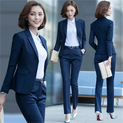 Notched Single Breasted Pants & Suit Set - SINCOS CLOTHING WOMAN ONLINE CHEAP AFTERPAY DRESSES PLUS SIZE GOOGLE FASHION NEW STYLE HOT SEXY PARTY JUMPSUITS TOP TEES SUITS BLAZER JACKETS COATS HOODIES SWEATSHIRTS FLORAL BUSINESS