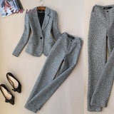 Business Suit & Pants Two Piece Set - SINCOS CLOTHING WOMAN ONLINE CHEAP AFTERPAY DRESSES PLUS SIZE GOOGLE FASHION NEW STYLE HOT SEXY PARTY JUMPSUITS TOP TEES SUITS BLAZER JACKETS COATS HOODIES SWEATSHIRTS FLORAL BUSINESS